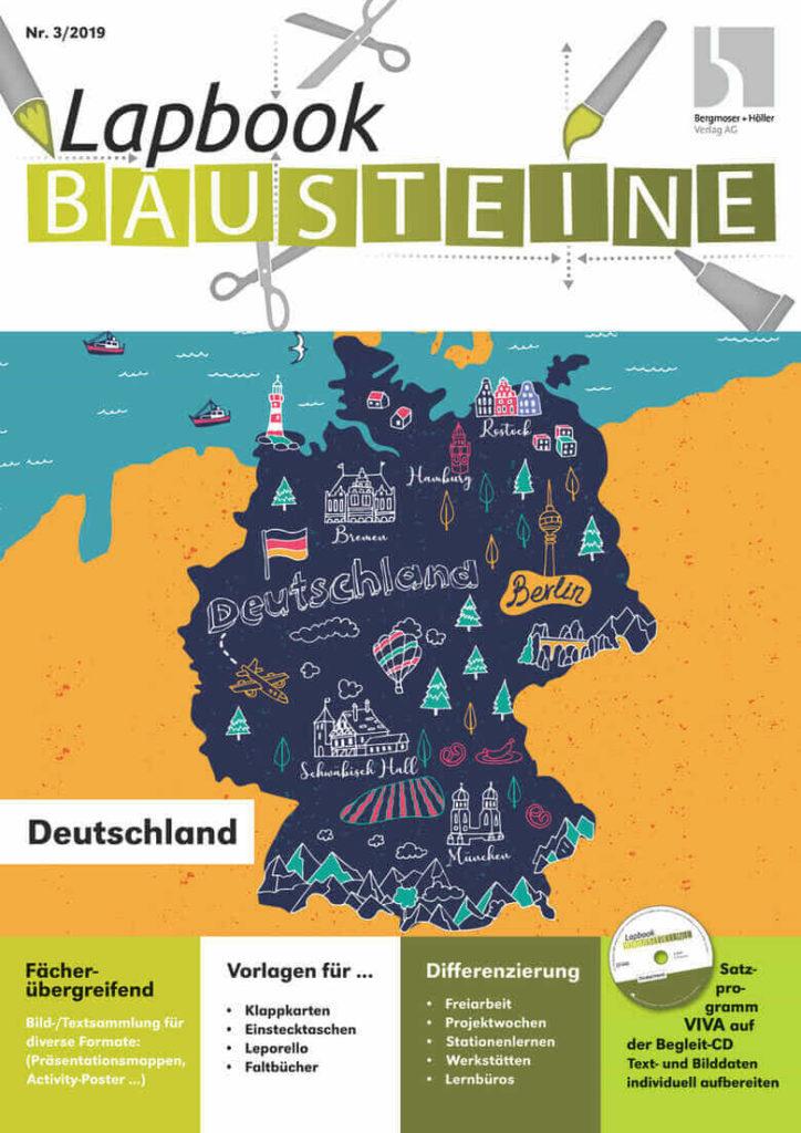 Lapbook Bausteine Deutschland